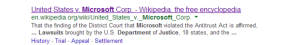 Microsoft Lawsuit