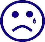 Sad Face with a tear