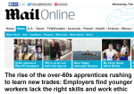 Rise of the over 60 apprentice