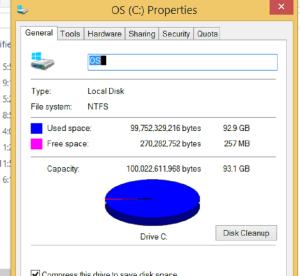 OS Disk Full