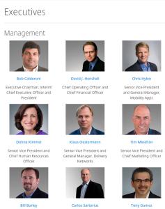 Citrix Executive Team